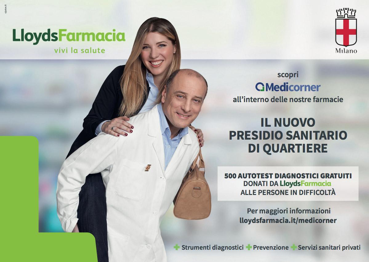 Affissione Lloyds Milano