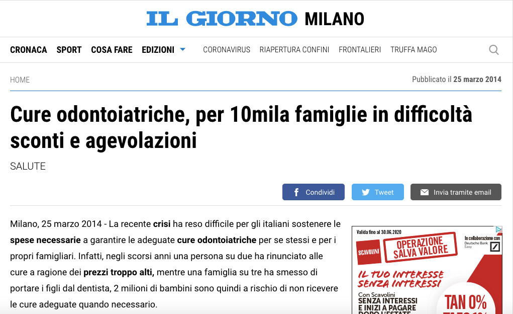 Il Giorno Milano