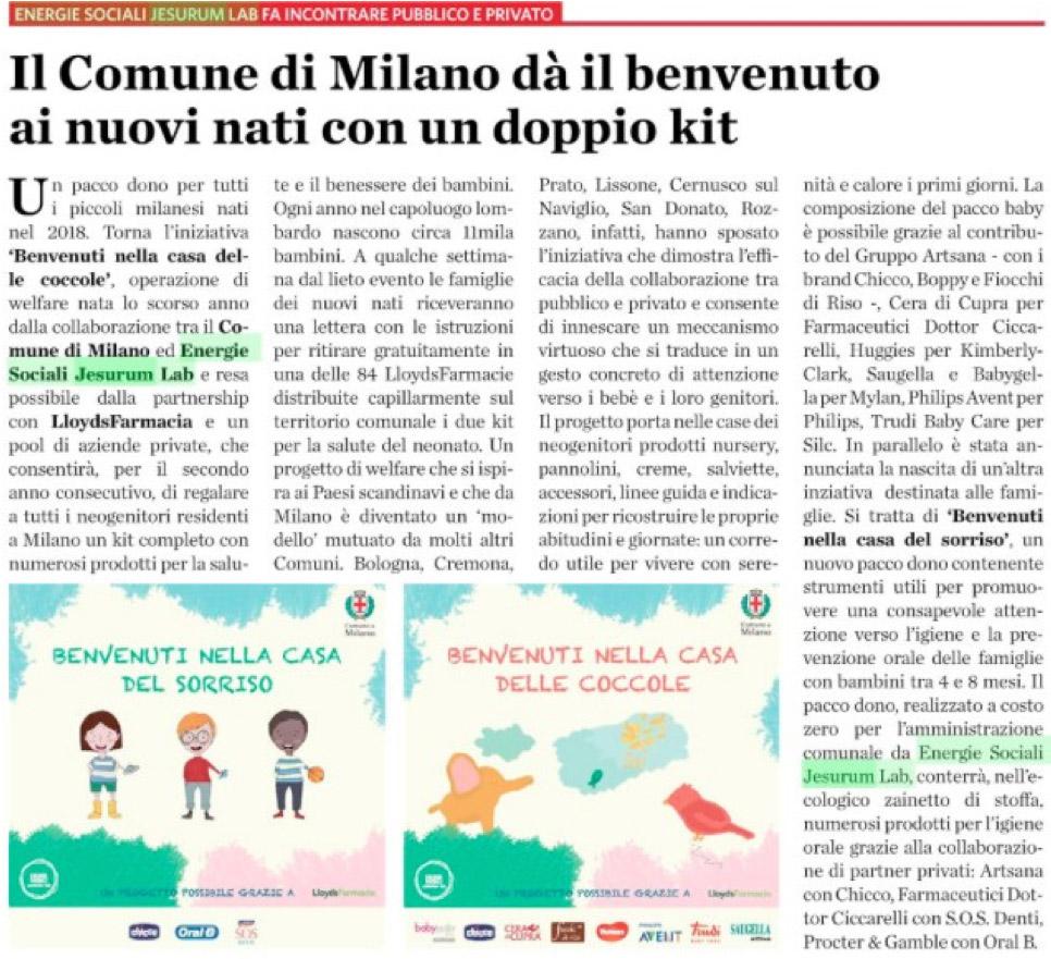 Pubblicita Italia Today