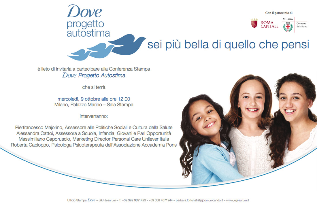 Save the Date | DOVE self-esteem project